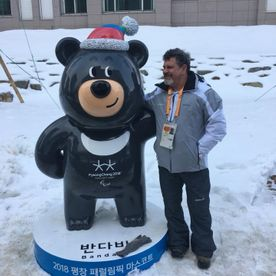 David Broman at the 2018 Pyeongchang Paralympic Games